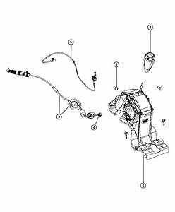 2008 Dodge Caliber Shifter  Transmission  Without  Dhd