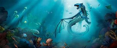 Wings Fire Tsunami Dragons Seawing Dragon Feu