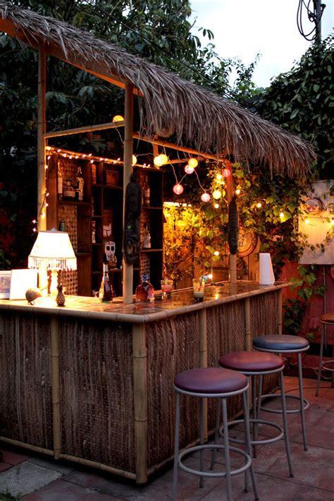Backyard Tiki Bar by Best 25 Tiki Bars Ideas On