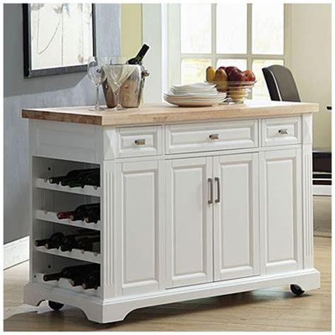 3drawer White Kitchen Cart At Big Lots  Kitchen Islands