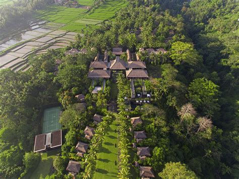 Maya Ubud Resort And Spa Bali Skysight Aerial Imaging