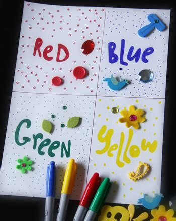 collage work for preschoolers create a color collage activity education 326