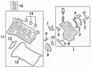 Lincoln Continental Engine Valve Cover