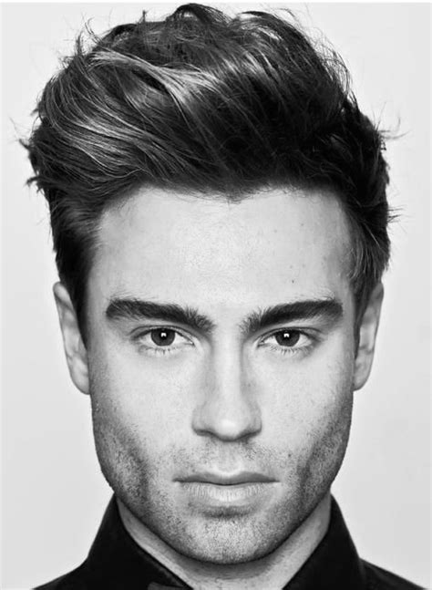 quiff haircut  men  manly voluminous hairstyles