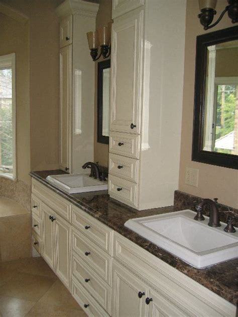 Bathroom Outlet Orange County by Vanity With Cabinet On Top Of Countertop I Like