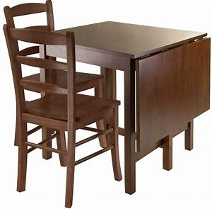 Lynden, Walnut, Drop, Leaf, Extendable, Dining, Table, From, Winsomewood