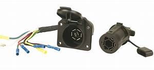 Hopkins Towing Solution Trailer Wire Connector Gmc Sierra 1500 Chevrolet Hd Dn