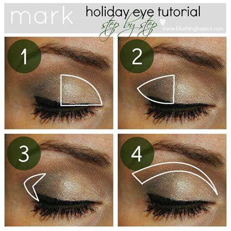 blushing basics mark eye makeup tutorialreview