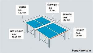 Ping Pong Table Dimensions DIY Pinterest Posts