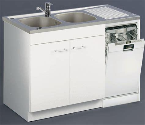 meuble cuisine avec évier intégré meuble de cuisine sous évier lave vaisselle aquarine pro