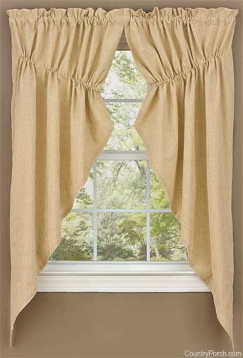 barrington lined gathered window curtain swags