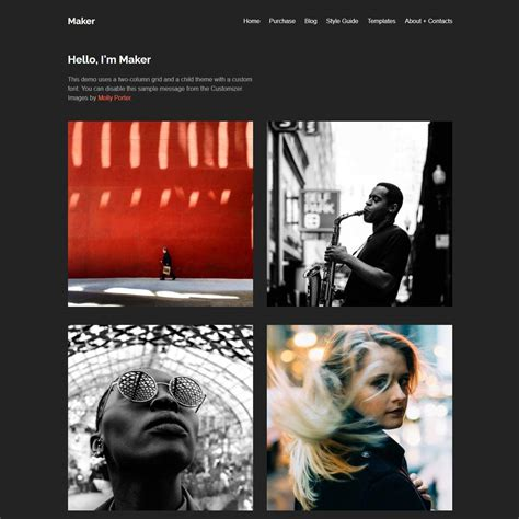 Free Minimal Themes 15 Best Free Minimalist Themes And Templates 2018