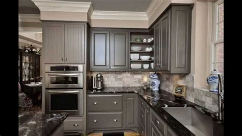 grey kitchen cabinets youtube
