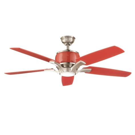 integrated led ceiling fan home decorators collection raymont 52 in integrated led