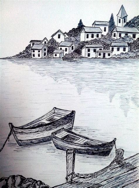 boats drawing pencil drawings drawings art drawings