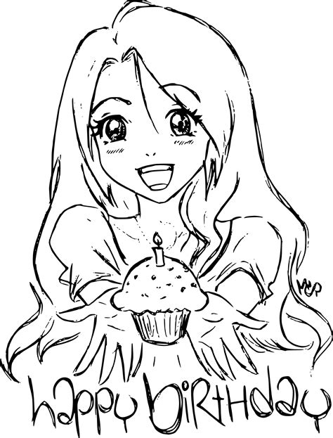 If you do not find the exact resolution you are looking for, then go for. Coloriage anniversaire manga fille à imprimer