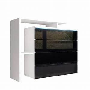 Sideboard Schwarz Weiß Hochglanz : kommode sideboard lissabon v2 in wei schwarz hochglanz m bel24 ~ Bigdaddyawards.com Haus und Dekorationen