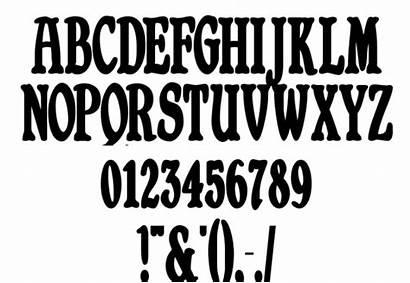 Font Fonts Bold Alphabet Styles Retro Cool