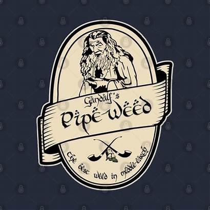 Gandalf Pipe Weed Pillow Teepublic