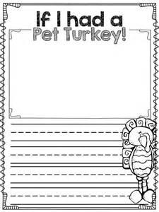 Turkey Writing Prompt If I Had a Pet
