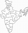India map | Map outline, Political map