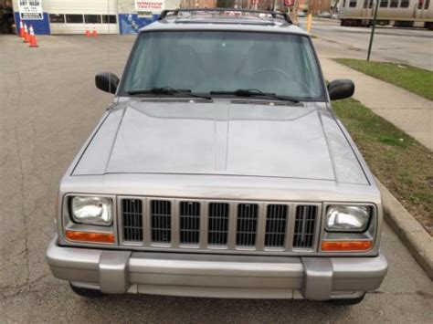 jeep cherokee sunroof purchase used 2001 jeep cherokee limited 4wd sunroof 60th