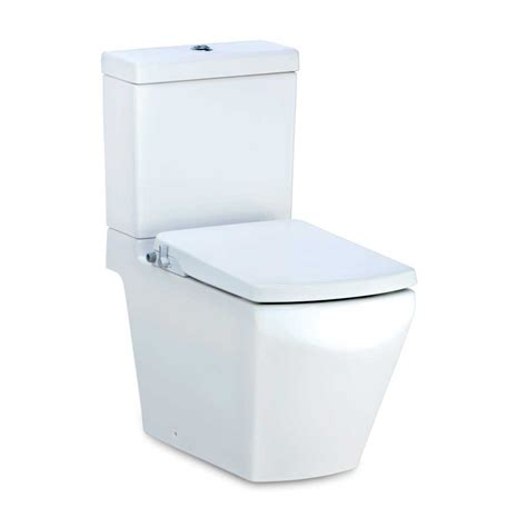 Cotto Water Closet by C17087 Cn Tetragon Two Toilet With Convenience