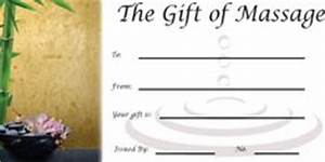 gift certificates gift certificate template and With massage therapy gift certificate template