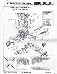 Weber 32 36 Dgev Carburator