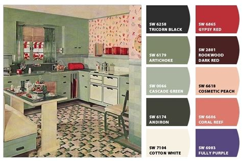 retro kitchen colors 1930s kitchen from american vintage home on flickr http 1932