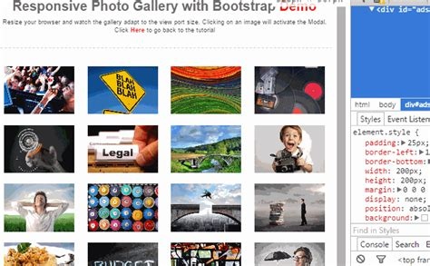 bootstrap gallery 16 newest free jquery plugins for this week 19 2015 jquery script