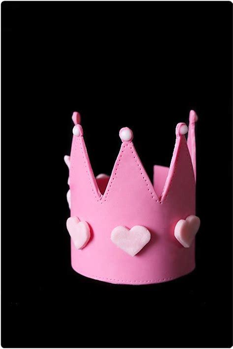 couronne pate a sucre g 226 teau de princesse chefnini