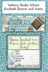 winter facebook banner  invites  usborne books