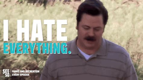 ron swanson gifs find share  giphy