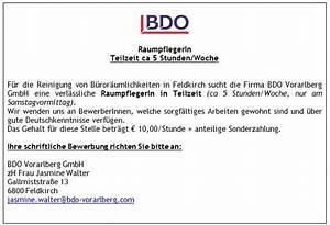 Teilzeitgehalt Berechnen : raumpflegerin feldkirch jobs in vorarlberg ~ Themetempest.com Abrechnung