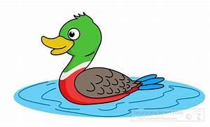 Duck Clipart : mallard-duck-clipart : Classroom Clipart