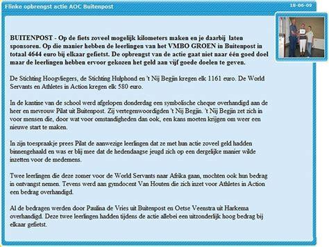 Aoc Friesland by Aoc Friesland Stichting Hoogvliegers