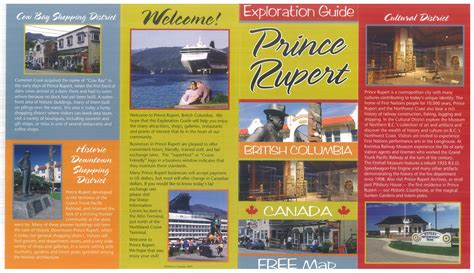 travel bureau tourist information city of prince rupert