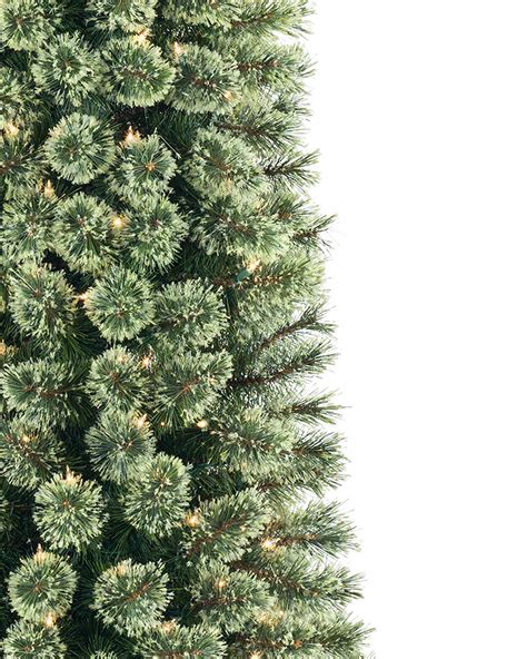Christmas Trees Unlit 9 Ft by Cozy Cashmere Pencil Christmas Tree Treetopia