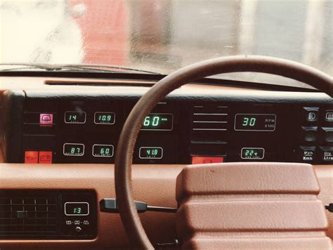Digital Dashboard Cars by Rover Sd1 Digital Dash Circa 1981 Arduino Dash