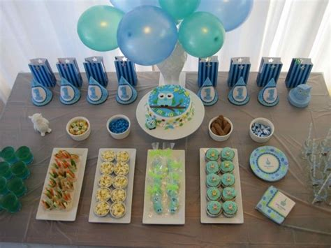 [boy Party] Owl Themed First Birthday Party!