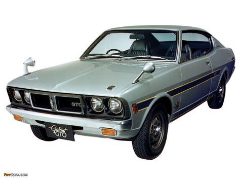 Mitsubishi Galant GTO 17X 1972–73 wallpapers (1024x768)