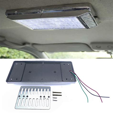 Overhead Interior Car Lights by White 36 Led Car Vehicle Dome Roof Ceiling Interior Light