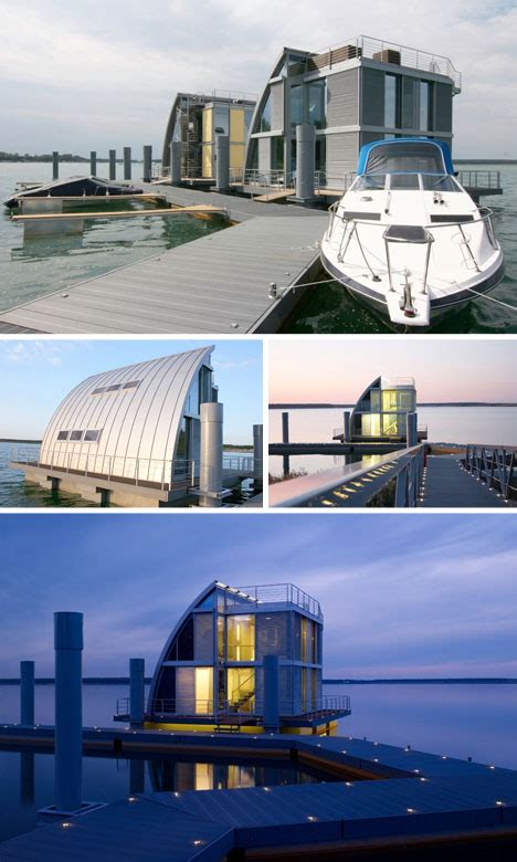 Modern Floating Houseboat