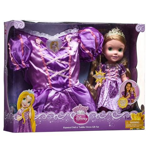 bm disney princess doll toddler dress gift set