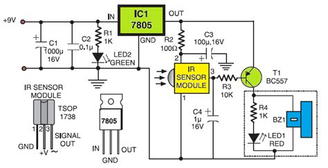 simple sensitive tester  infrared ir remote control