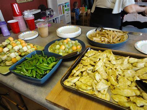 ideal cuisine birthday finger foods for photo
