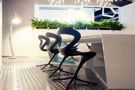 Imaginative Spaceship Themed Office With A Touch of