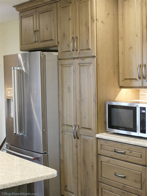 standard depth refrigerator installed