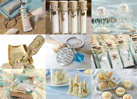 wedding favors beach theme ideas4weddings